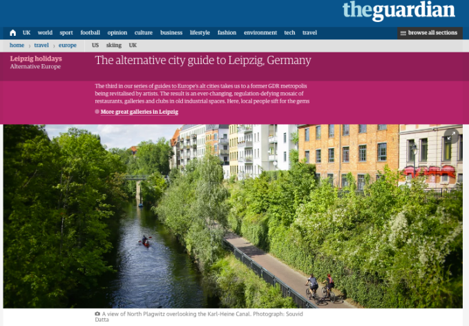 Guardian Article Interview – The alternative city guide to Leipzig