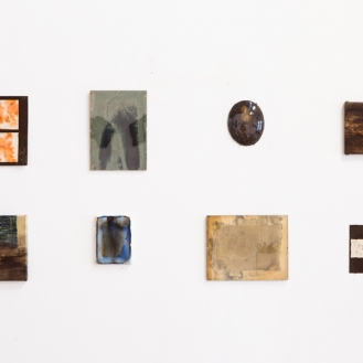 Installation view, small works, varies, 2013